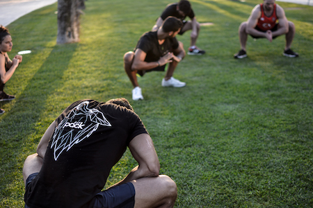 Outdoor Fitness Classes Barcelona
